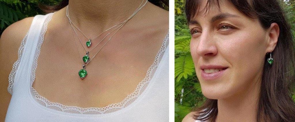 Jewellery Charged with Light