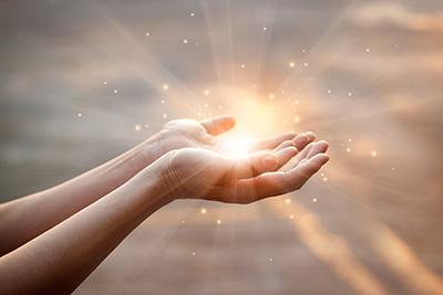 Remote Light Healing